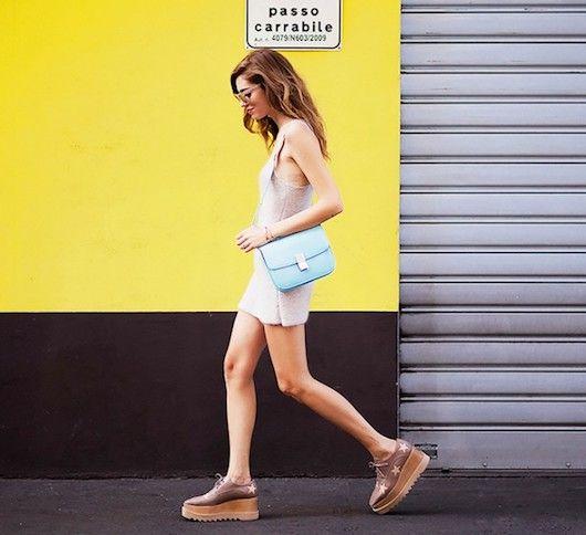 Mini Skirt Chiara Ferragni Platform Oxfords