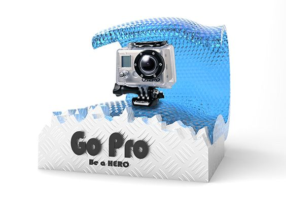 GoPro Point of Sale on Behance