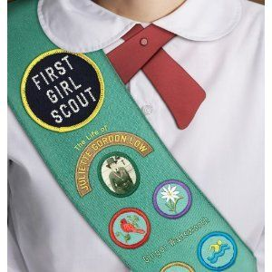 """""""First Girl Scout:  the Life of Juliette Gordon Low"""" by Ginger Wadsworth"""