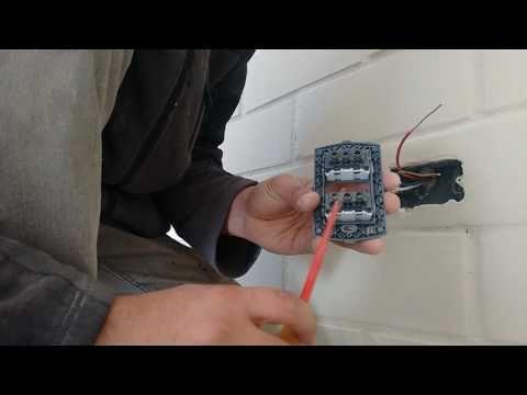 Tutorial Electricidad Como Instalar Un Enchufe O Tomacorriente Doble Youtube Electricidad Toma De Corriente Enchufe