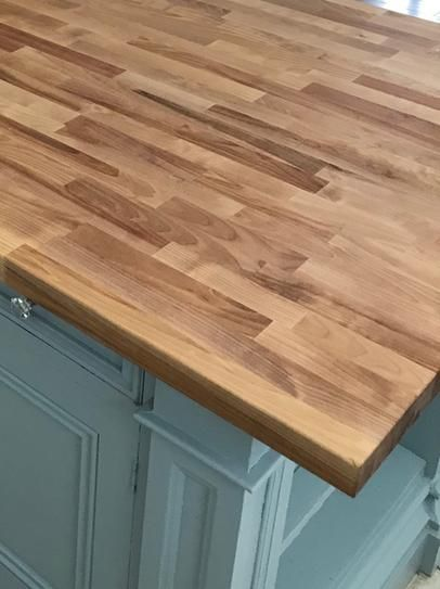 Hardwood Reflections 6 Ft 2 In L X 3 Ft 3 In D X 1 5 In T Butcher Block Counter Butcher Block Countertops Kitchen Rustic Kitchen Butcher Block Countertops