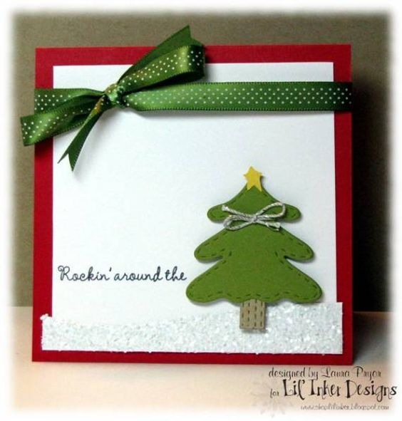 Rockin' Around the Christmas Tree! by she's_crafty - Cards and Paper Crafts at Splitcoaststampers