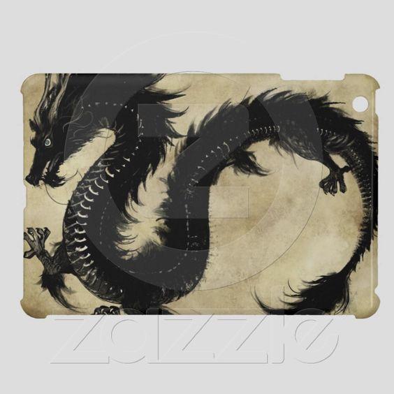 Black Dragon iPad Mini Cover $40.40