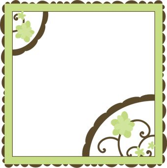 Alice's 12x12 Page Background SVG File for Sure Cuts a Lot