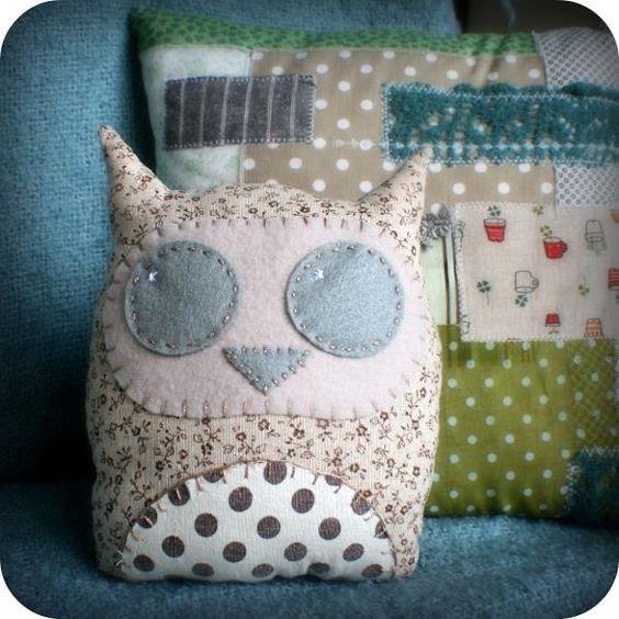 Owl Cushion crafts