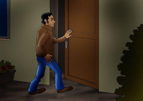 Le voleur sous le lit Histoire Biblenfant