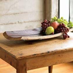 Wine Barrel Stave Bread Bowl