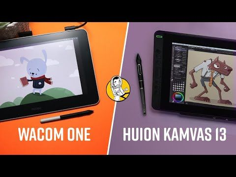 Wacom One Vs Huion Kamvas 13 Smackdown Youtube In 2020 Wacom Android Features Tech Review