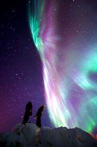 aurores boréales à Kautokeino  septembre à avril