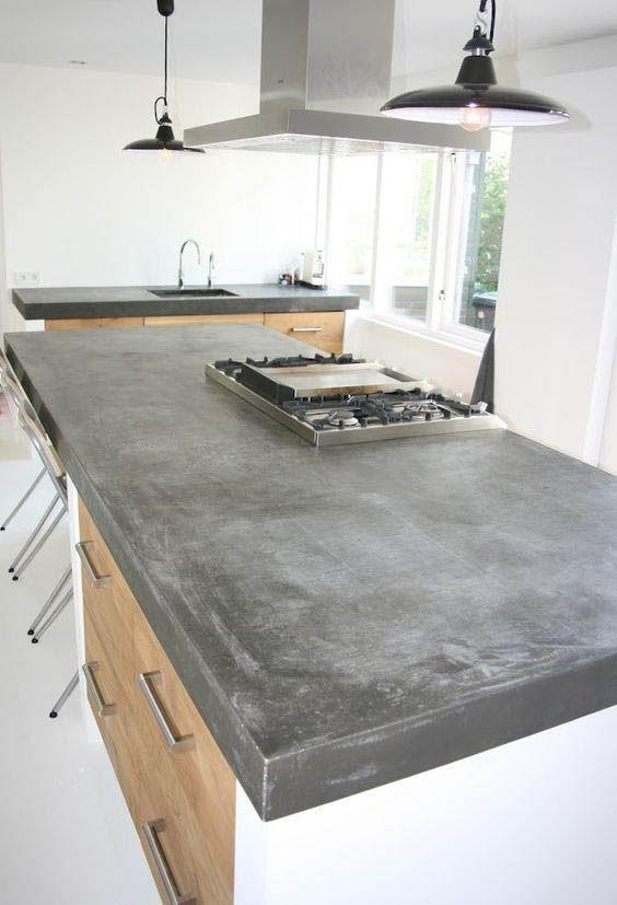 Concrete Countertops Advantages And Disadvantages Kitchen