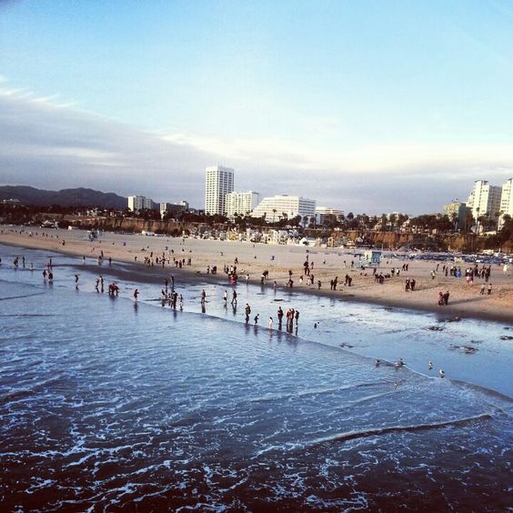 Santa Monica,  a great day at the beach