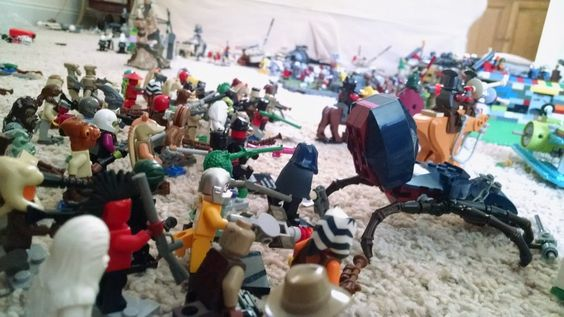 Reports From the Field: [HH] Struggle for Brickingrad - Turn 3, by AZKAMAT