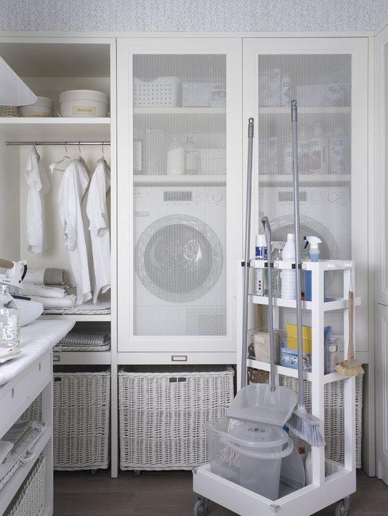 Altura lavarropas