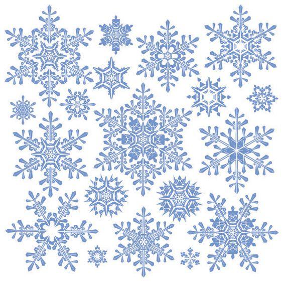 snowflake vector material 2 download free vector snow flake vectors download free nature vectors 595x595: