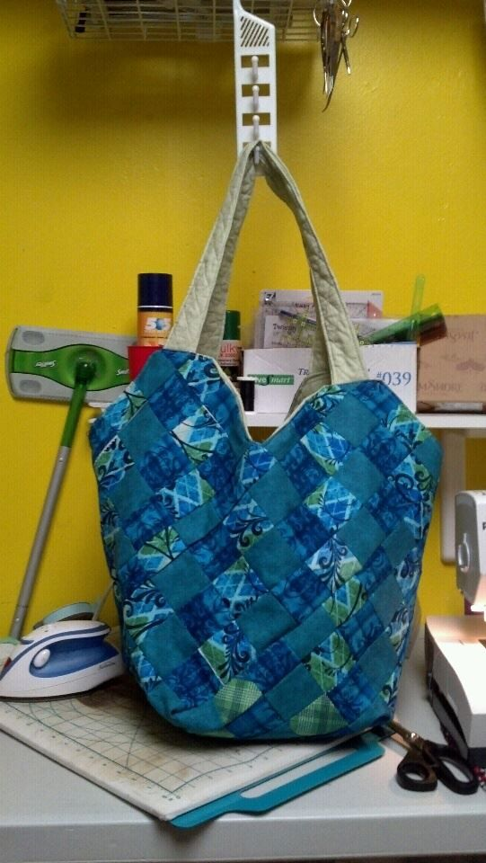 made this bag for a prize in a pedometer contest