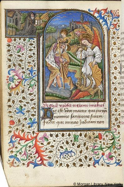 Book of Hours, M.287 fol. 144v - Images from Medieval and Renaissance Manuscripts - The Morgan Library & Museum