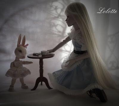 Poupées et travaux coutures  de Lolotte: Alice au pays des merveilles