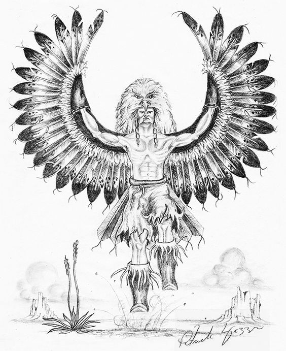 Line Drawing Eagle : Native american eagle line drawing photos good pix