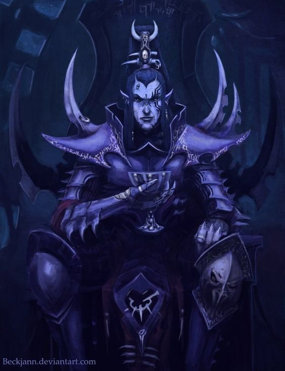 Dark Eldar: Asdrubael Vect by Beckjann on DeviantArt