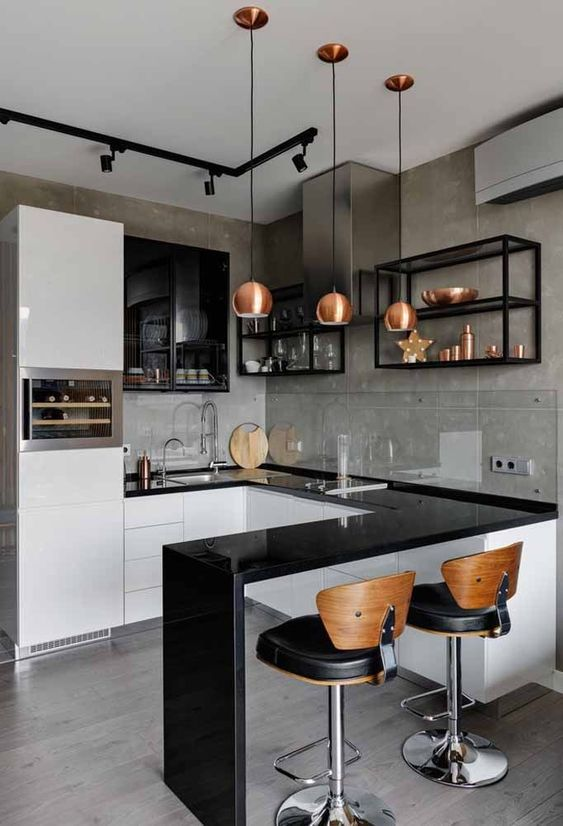 5 Amazing Small Modern Kitchen Design Ideas in 2020