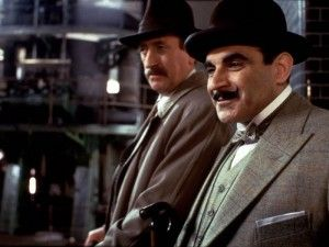 David Suchet, who stars as Hercule Poirot in the television adaptation of Agatha Christie's classic novel The Murder of Roger Ackroyd. Follow the link attached to this image to read more about this classic detective novel and be sure to 'like', share and leave a comment.