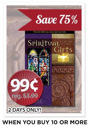 Spiritual Gifts Pamphlet - SALE!