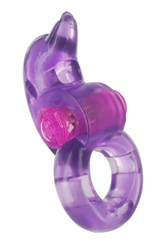 FlippHer Vibrating Cock Ring - Purple $12.25 @ mzcookiesxxxtoyjar.com