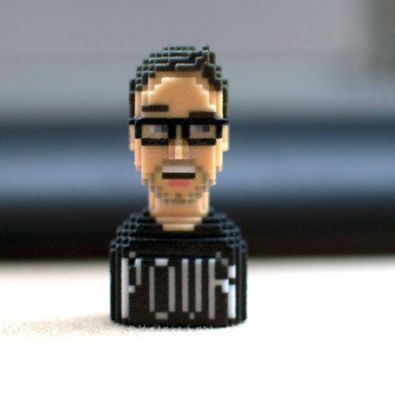 Cyprien #LEBLOX #PixelArt #3Dprinting #Tribute #cypriengaming 6pri1
