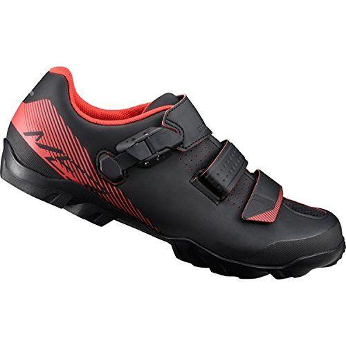 Shimano Men Me300 Spd Mtb Cycling Shoe Black Red Size Eu 50