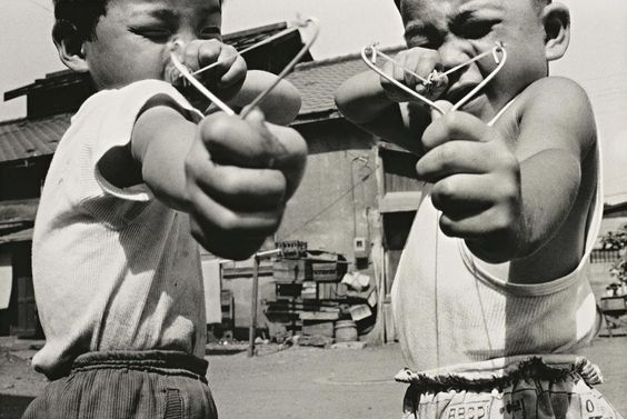 © Nobuyoshi Araki; Satchin and his brother Mabo, 1963