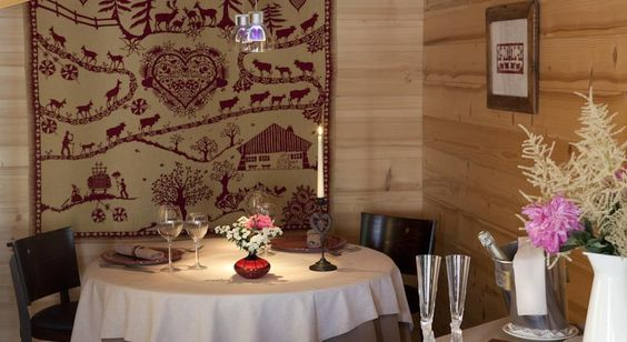 restaurant hotel spa crychar les gets