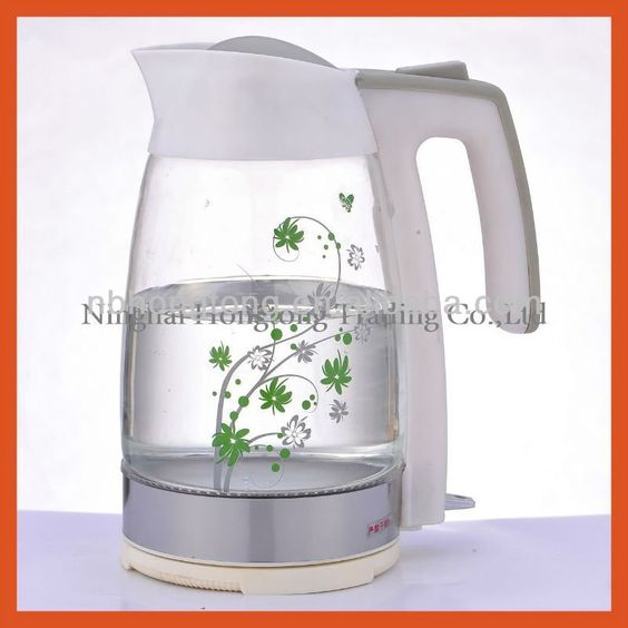 1.8L Automatic & Cordless Glass electric kettle $16~$20