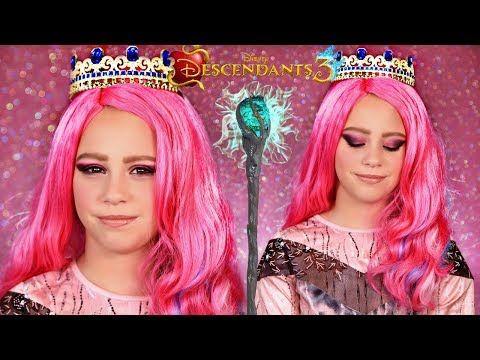 Disney Descendants 3 Audrey Queen Of Mean Makeup And Costume Youtube Disney Descendants Disney Descendants 3 Descendants Costumes