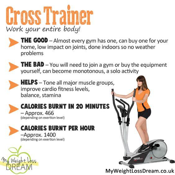 cross trainer machine benefits