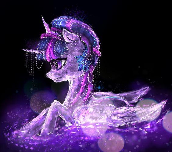 Crystal Twilight Sparkle Pony: