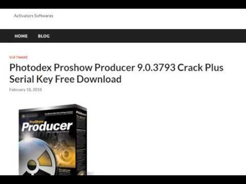 Photodex Proshow Producer 9 0 3793 Serial Key Free Serial Free Key