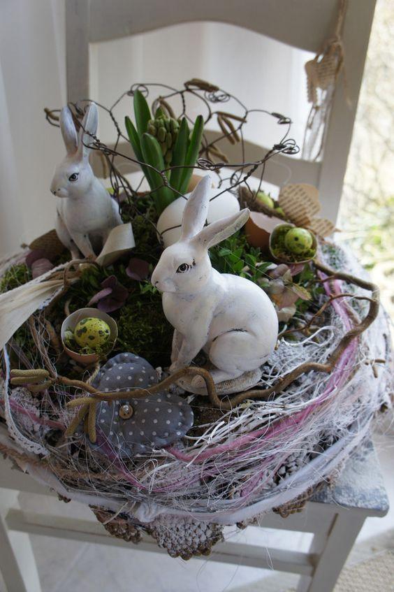 Wielkanoc - zarezerwowane dla Simone & quot; Wachgeküsst .... & quot; - Kawałek projektant Hoimeliges na DaWanda