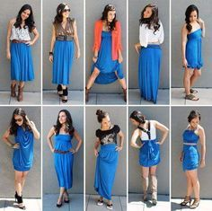 Ways to style a maxi