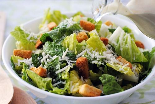 Image via We Heart It https://weheartit.com/entry/167461114 #fit #healthy #salad #caesarsalad #fitspo