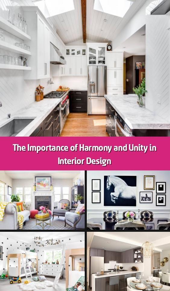 Unity In Interior Design