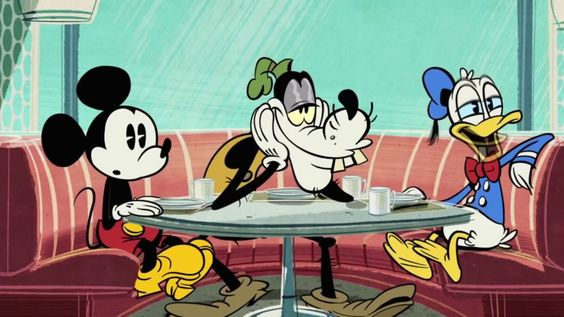 Mickey Mouse & Donald Duck Cartoons 😻 Minnie mouse, Pluto, Mickey Mouse ...