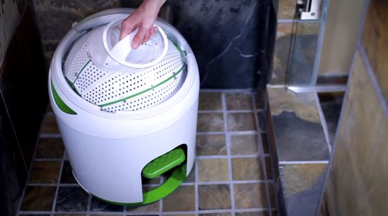 This Tiny Washing Machine Needs No Electricity - Reviewed.com Laundry