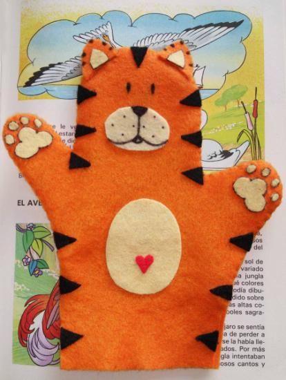Marionetas de mano mascotas fauna diy pinterest - Como hacer marionetas de mano ...
