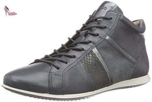 ECCO Women's Women's Soft 4 High Top Fashion Sneaker, Black/White, 39 EU /  8-8.5 US - Ecco sneakers for women (*Amazon Partner-Link) | Pinterest |  High tops ...