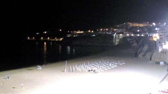 Albufeira á noite ,  Praia dos Pescadores
