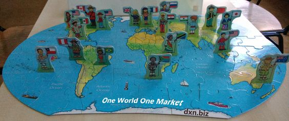 International network building business is possible with one DXN member code