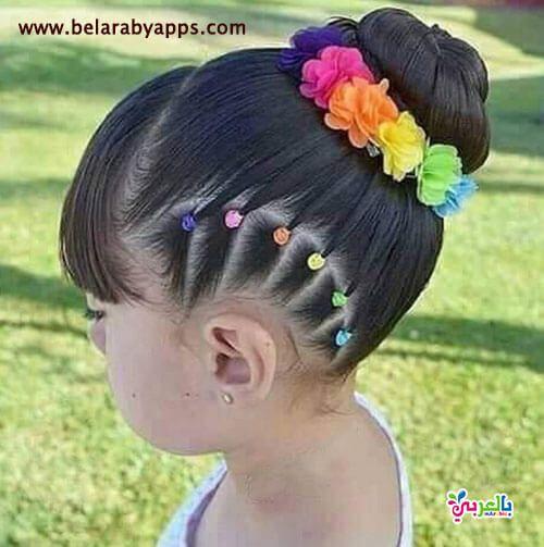 دلعي بنتك تسريحات اطفال سهلة ومميزة للمدرسة احدث تسريحات اطفال بنات بالعربي نتعلم Hair Accessories Hair Beauty