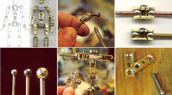 MAKE ZINE: How to build your own stop motion armatures