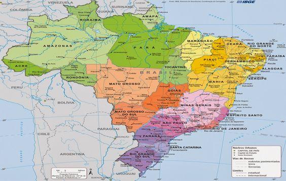 mapa do brasil politico - Resultados - Yahoo Search da busca de imagens