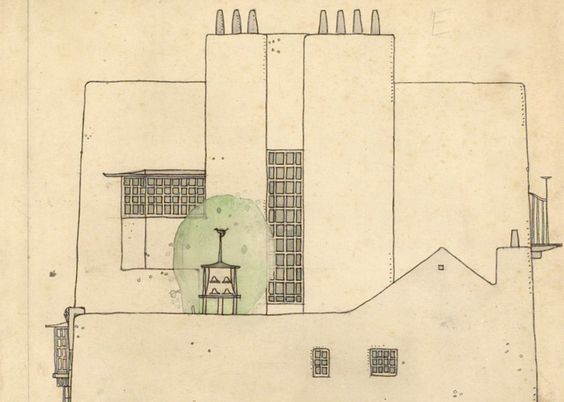 Charles Rennie Makintosh - drawing